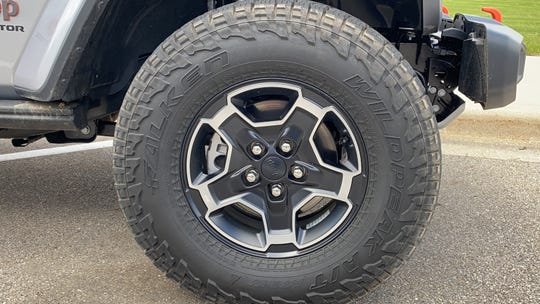 Falken all-terrain tires on Jeep Gladiator Mojave