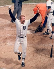 Kirk Gibson's homer in Game 5 sealed the Tigers' triumph over the Padres in the 1984 World Series.