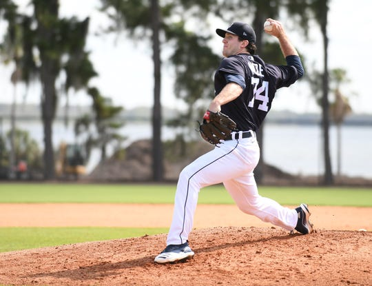 Casey Mize is the top-ranked prospect in the Tigers' system.