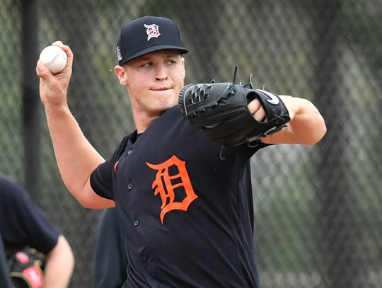 Matt Manning posted a 2.56 ERA and racked up 148 strikeouts in 133.2 innings at Double-A Erie last season.