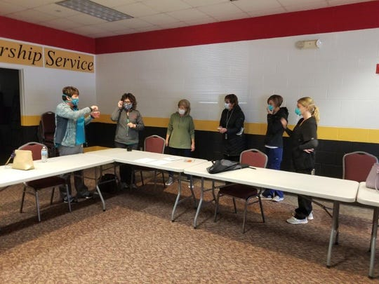 School nurses and ServSTEUBEN reserve nurses stepped up to help test all residents and staff at the Elderwood nursing home in Hornell.