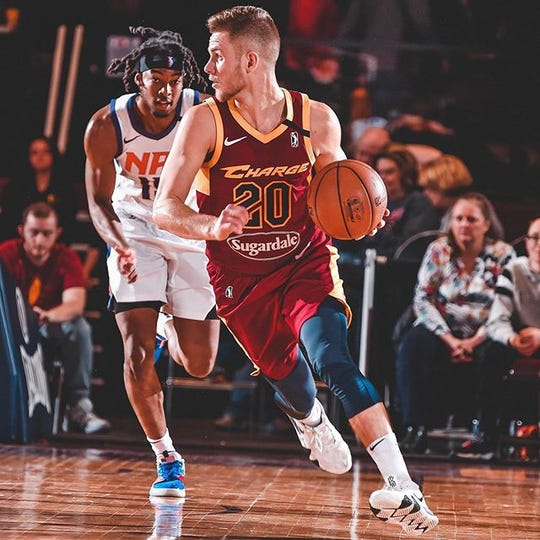 Alex Stein is playing professionally in the NBA G League with the Canton Charge.