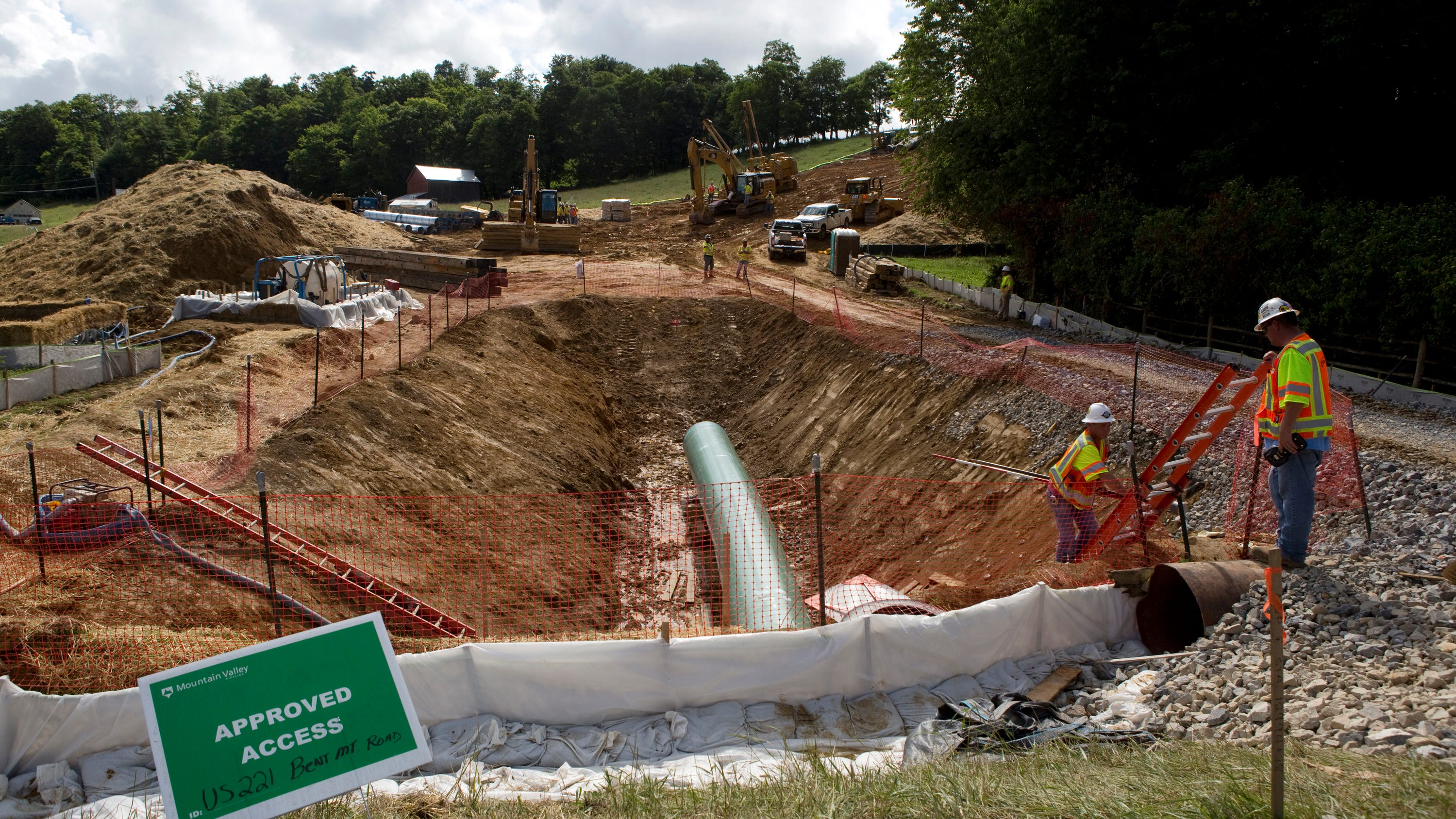 N.C. Division of Water Resources denies MVP Southgate permit - Burlington Times News