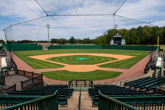 The city of Jackson has spent $13.4 million on its baseball team the Jackson Generals over the last 10 years. $1 out $50 tax dollars collected went to the team. Jackson Generals Stadium, in Jackson Tenn., Monday April, 27, 2020.