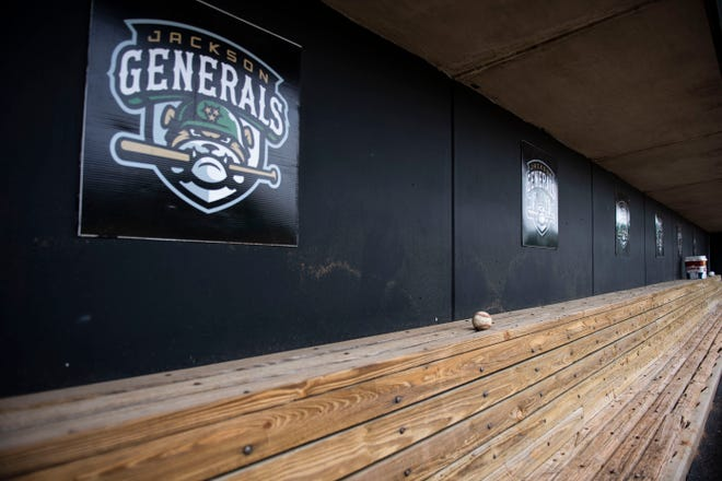 The Generals are on a list of 42 minor league baseball teams that could be eliminated when Major League Baseball restructures its minor league system. Jackson Generals Stadium, in Jackson Tenn., Monday April, 27, 2020.