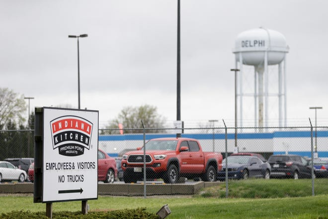 Indiana Packers Corp., Wednesday, April 29, 2020 in Delphi.