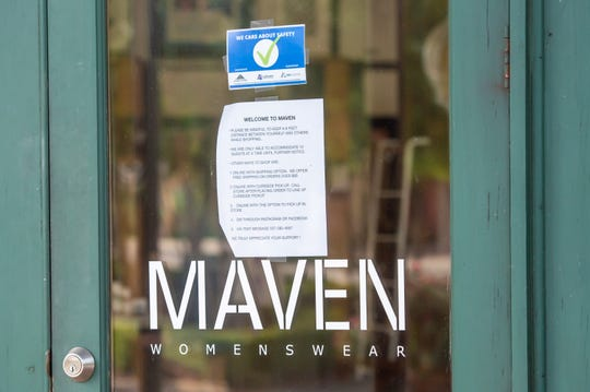Maven Womenswear in River Ranch. Wednesday, April 29, 2020.