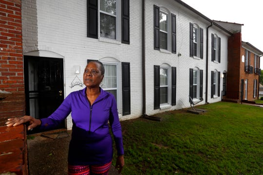 Leslie Shaw is raising her granddaughter, 14-year-old Casha-Mona, from their Raleigh Court Townhome in Memphis where she is trying to balance her safety from the coronavirus with her granddaughter's desire to go to parties and sleepovers with friends.
