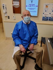 Dr. Richard Watson, 87, came out of retirement to volunteer his services at Zufall Health Center in Dover.