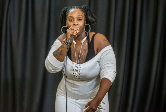 Mz. Sincere performs at The Sanctuary in Montgomery.