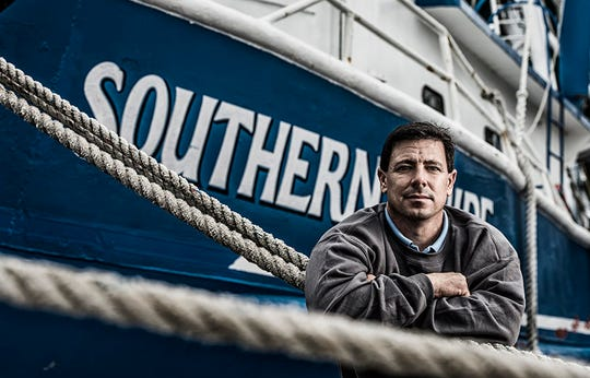 David Chauvin has spent a lifetime shrimping along the Gulf Coast.
