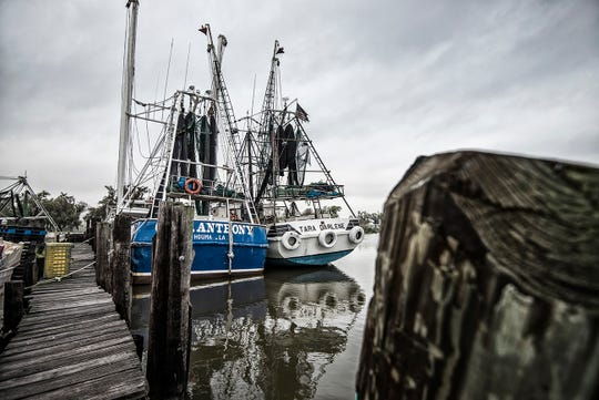 David Chauvin still owns four large shrimp boats, but today his main business is on land.