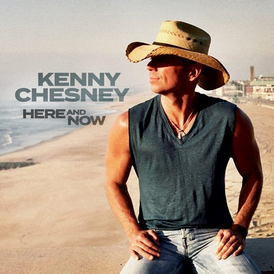 """Kenny Chesney's new album is """"Here and Now."""""""