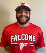 Tyler Finch, the new Loving Falcons head football coach.