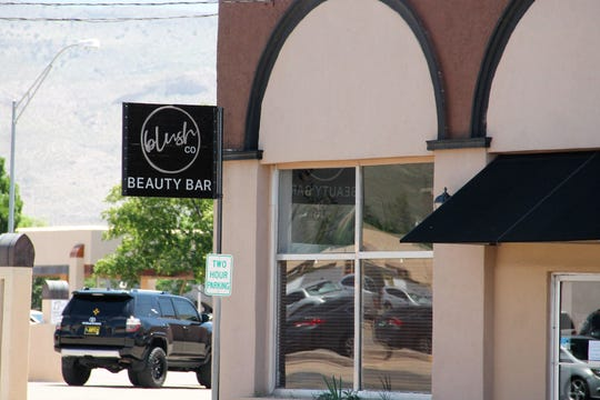 blush Beauty Bar on 10th Street near New York Avenue