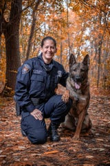 Bloomfield Township K-9 Officer Angela Carlson