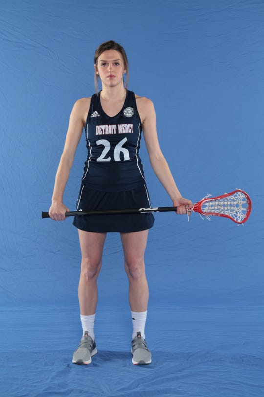 Jessica Snyder played lacrosse for Ladywood and Detroit Mercy.