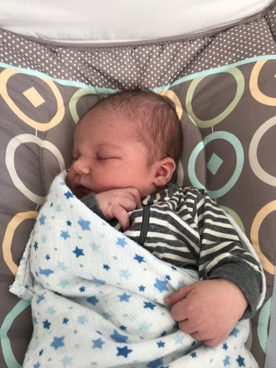 Andrew Loftus was born April 19 in the midst of the coronavirus pandemic at Nine Short Months Birth and Community Wellness Center in Southfield.