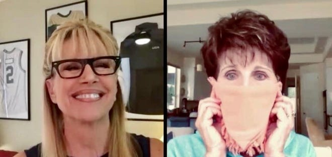 Sandie Newton speaks to Lucie Arnaz about the CV Mask Project and its silver linings.