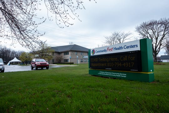 Community First Health Centers has made coronavirus testing available by appointment via drive-thru at its facility at 555 St. Clair River Drive in Algonac.
