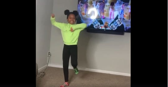 Last year, 8-year-old London and her mother caught the attention of Beyonce during a dance challenge. Another big name in music gave the young dancer a shout-out after she participated in a dance challenge during Pennsylvania's stay-at-home order.
