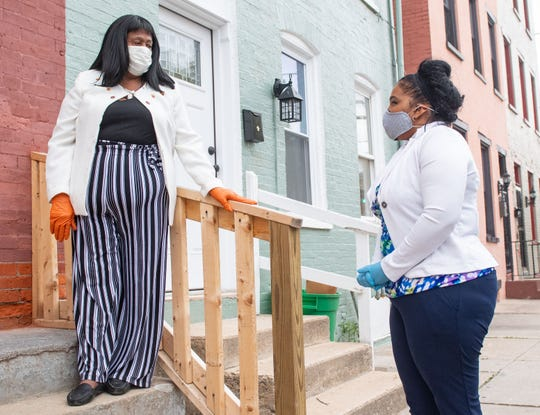 According to Angela Mercado of York City, coronavirus is unlike anything else she's ever dealt with, April 28, 2020.