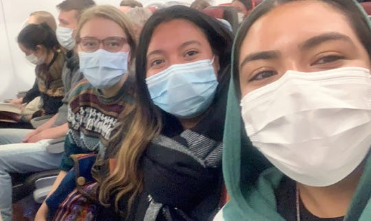 UMES senior Samantha Hernandez helped nine American exchange students return to the United States after they were stuck in Peru due to the COVID-19 outbreak.