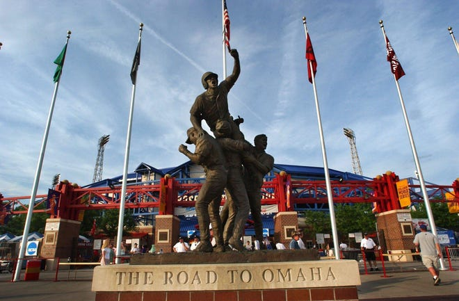 Rosenblatt Stadium, Omaha, Nebraska. Home of the College World Series. Photo/Christina Dicken/News-Leader