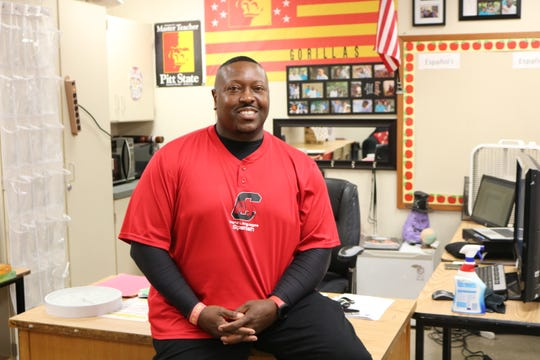 Armando Johnson, a Spanish instructor at Central High School, was named 2020-2021 Teacher of the Year by Springfield Public Schools on Wednesday, April 29, 2020.
