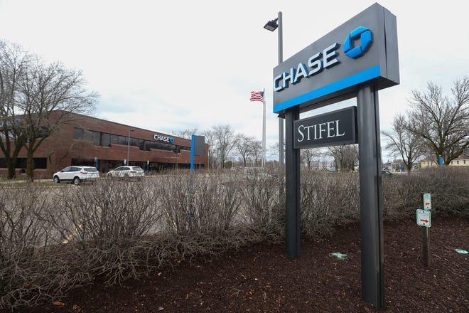 On Wednesday, April 29, 2020, a Chase Bank spokesperson said the branch in Stevens Point, Wis. would reopen Monday, after it had been closed for precautions. Tork Mason/USA TODAY NETWORK-Wisconsin