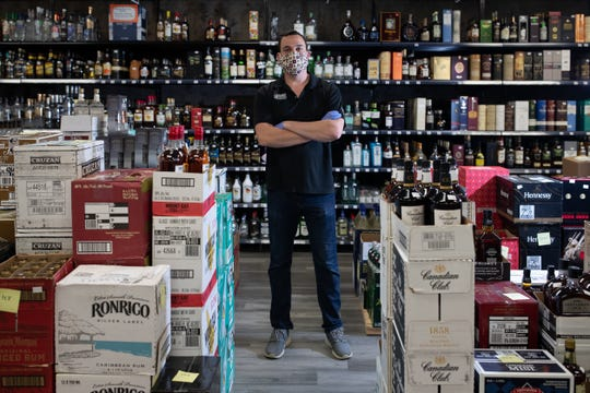 Christian Tricquet, Market Square Liquor general manager