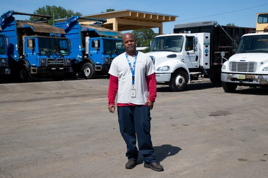 Kendrick Leon, City of Tallahassee Solid Waste Services specialized operator