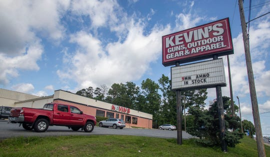 Kevin's Guns & Sporting Goods located on Capital Circle Northeast.