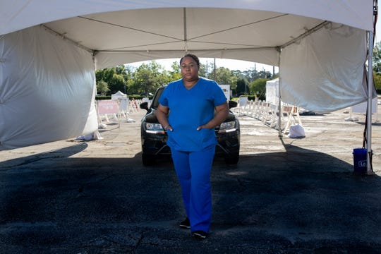 Samara Sims, Tallahassee Memorial HealthCare registered nurse and director of projects and engagement