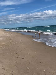 Indian River and St. Lucie County beaches reopened Tuesday, April 28, 2020.