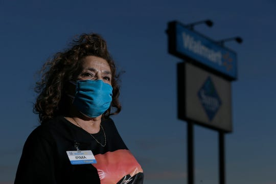Walmart cashier Irma Cano was one of the Aug. 3 Walmart shooting heroes and is now dealing with the coronavirus at work.