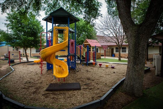 The University of Texas Child Development day care center in Austin on April 6, 2020.