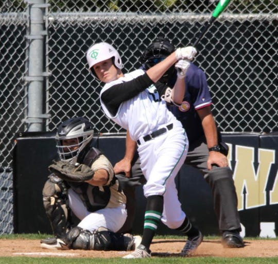 Jacob Wilson was hitting .583 for undefeated Thousand Oaks before the season was ended because of the COVID-19 pandemic.