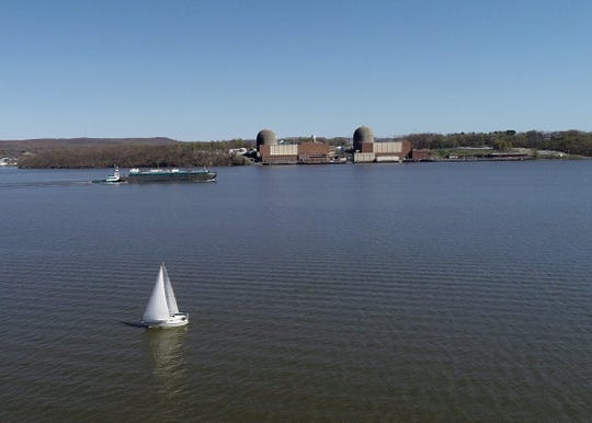 Drone photo of Indian Point Power Center in Buchanan on Tuesday, April 28, 2020.