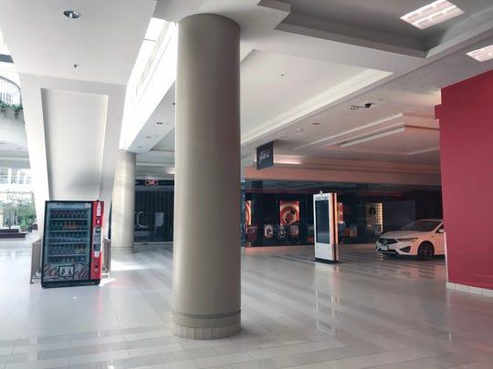 The closed Poughkeepsie Galleria April 28, 2020.