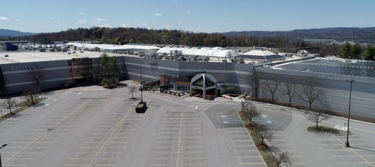 The Poughkeepsie Galleria Mall in New York has been closed, except for curbside pickup, since the outbreak of the coronavirus pandemic.