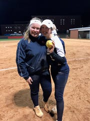 Siblings Hayley King (left) and Abi Gardner (right) were looking forward to one final season together for Powdersville softball.