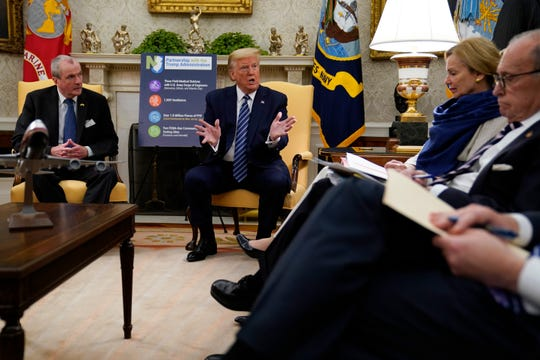 Gov. Murphy meets with President Trump. Here's what they discussed