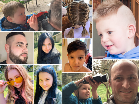A look at some of the hair cuts and colors of the last few weeks in Kitsap.