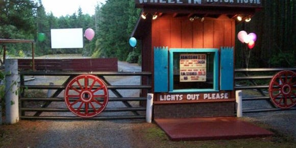 The Wheel-In Motor Movie in Port Townsend will open for business May 6.