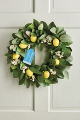 Harry David Country Living Lemon Wreath will bring a smile to Mom's face.
