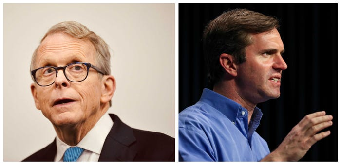 Survey: Ohio and Kentucky governors are the most popular during the pandemic