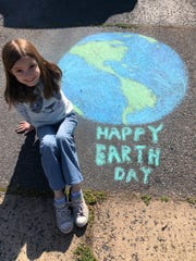 TEECS student celebrated Earth Day.