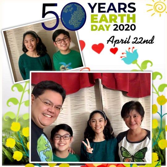 TEECS  family celebrated Earth Day.