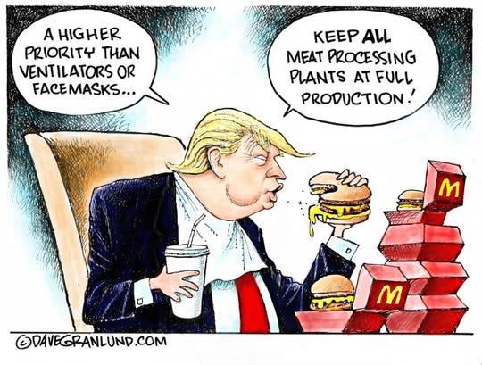 Dave Granlund editorial cartoon